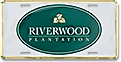 Riverwood Plantation deluxe gold tag design sample